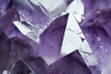 Amethyst Crystals Photo by Lawrence Lawry