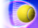 Tennis Ball Photographic Print by Coneyl Jay
