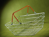 Shopping Basket Prints by Tek Image