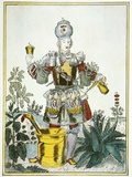 Apothecary, Satirical Artwork Prints by Science Photo Library