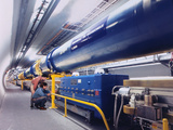 Composite Image of Large Hadron Collider Photographic Print by David Parker and Julian Baum