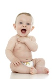 Smiling Baby Boy Photographic Print by Ruth Jenkinson