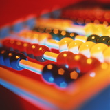 Abacus Photographic Print by Tek Image