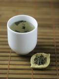 Japanese Sencha Green Tea Fotodruck von Veronique Leplat