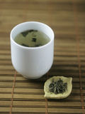Japanese Sencha Green Tea Photographic Print by Veronique Leplat