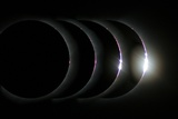 Total Solar Eclipse Photographic Print by Laurent Laveder