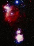 Optical Image of Horsehead And Great Orion Nebula Photographic Print by Celestial Image