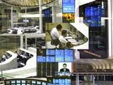 Tokyo Stock Exchange Photographic Print by Mehau Kulyk