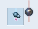 Muon And Neutrino Detector, Artwork Photographic Print by Mikkel Juul