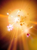 Particle Collision Photographic Print by Richard Kail