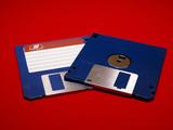 Computer Floppy Discs Photographic Print by Andrew Lambert