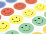 Smiley Face Stickers Posters by Tek Image