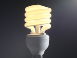 Energy-saving Light Bulb Print by Tek Image