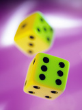 Dice Photographic Print by Tek Image