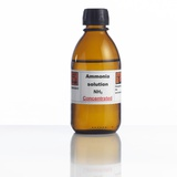 Ammonia Solution, Laboratory Bottle Premium Photographic Print by Science Photo Library