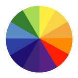 Colour Wheel Photographic Print by Science Photo Library