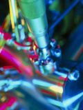 Close-up of Part of a Mass Spectrometer Fotografisk tryk af Tek Image