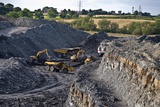 Opencast Coal Mine Prints by Chris Knapton