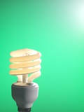Energy-saving Light Bulb Poster by Tek Image