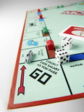 Monopoly Board Game Premium Photographic Print by Tek Image