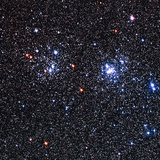 Optical Image of the Perseus Double Star Cluster Photographic Print by Celestial Image
