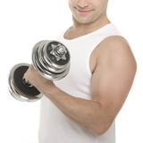 Lifting Weights Photographic Print by Science Photo Library
