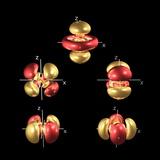 5d Electron Orbitals Photographie par Dr. Mark J.