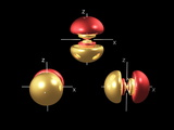 5p Electron Orbitals Reproduction photographique par Dr. Mark J.