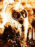 Chemical Warfare Photographic Print by Mehau Kulyk
