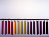Universal Indicator Scale Reproduction photographique par Andrew Lambert