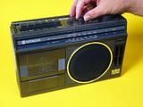 Photo of Radio Cassette Player Premium Photographic Print by Andrew Lambert