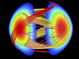 Nuclear Fusion Plasma Simulation Photographic Print by Lawrence Berkeley National Laboratory