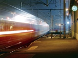 TGV Train Photographic Print by Laurent Laveder