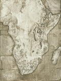 Hominid Fossil Sites In Africa Posters by Kennis and Kennis
