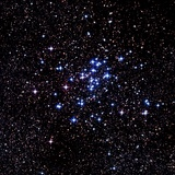 Optical Image of the Open Star Cluster NGC 6124 Photographic Print by Celestial Image