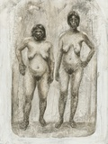 Neanderthal And Homo Sapiens Photographic Print by Kennis and Kennis