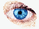 Biometric Identification Photographic Print by Mehau Kulyk