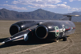 Thrust SSC, the World's First Supersonic Car Poster by Keith Kent