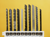 Jigsaw Blades Photographic Print by Andrew Lambert