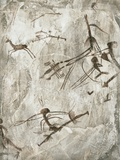 Prehistoric Cave Painting Premium Photographic Print by Kennis and Kennis