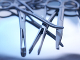 Surgical Instruments Poster by Tek Image