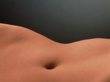 Woman's Abdomen Photographic Print by Phil Jude