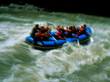 White Water Rafting Photographic Print by Brad Lewis