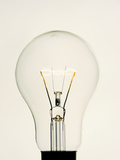 Electric Light Bulb Photographic Print by Lawrence Lawry