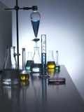 Laboratory Glassware Prints by Tek Image