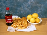 Fish And Chips Photographic Print by Andrew Lambert