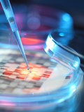 Genetic Research, Conceptual Image Print by Tek Image