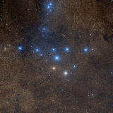 Coathanger Star Cluster Photographic Print by Celestial Image