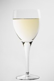 Glass of White Wine Photographic Print by Lawrence Lawry