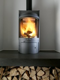 Wood-burning Stove Photographic Print by Tek Image